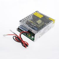 60W 9CH cctv power supply box 220V AC / DC 12V 5A power supply