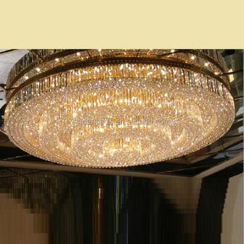 Luxury crystal hanging chandelier / pendant l&s big modern light gold & Luxury Crystal Hanging Chandelier / Pendant Lamps Big Modern Light ...