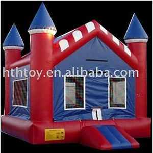 Red Roof inflatable playground balloon