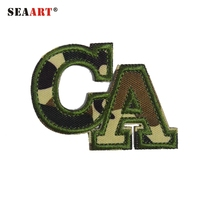 Embroidered Letter Appliques For Clothing