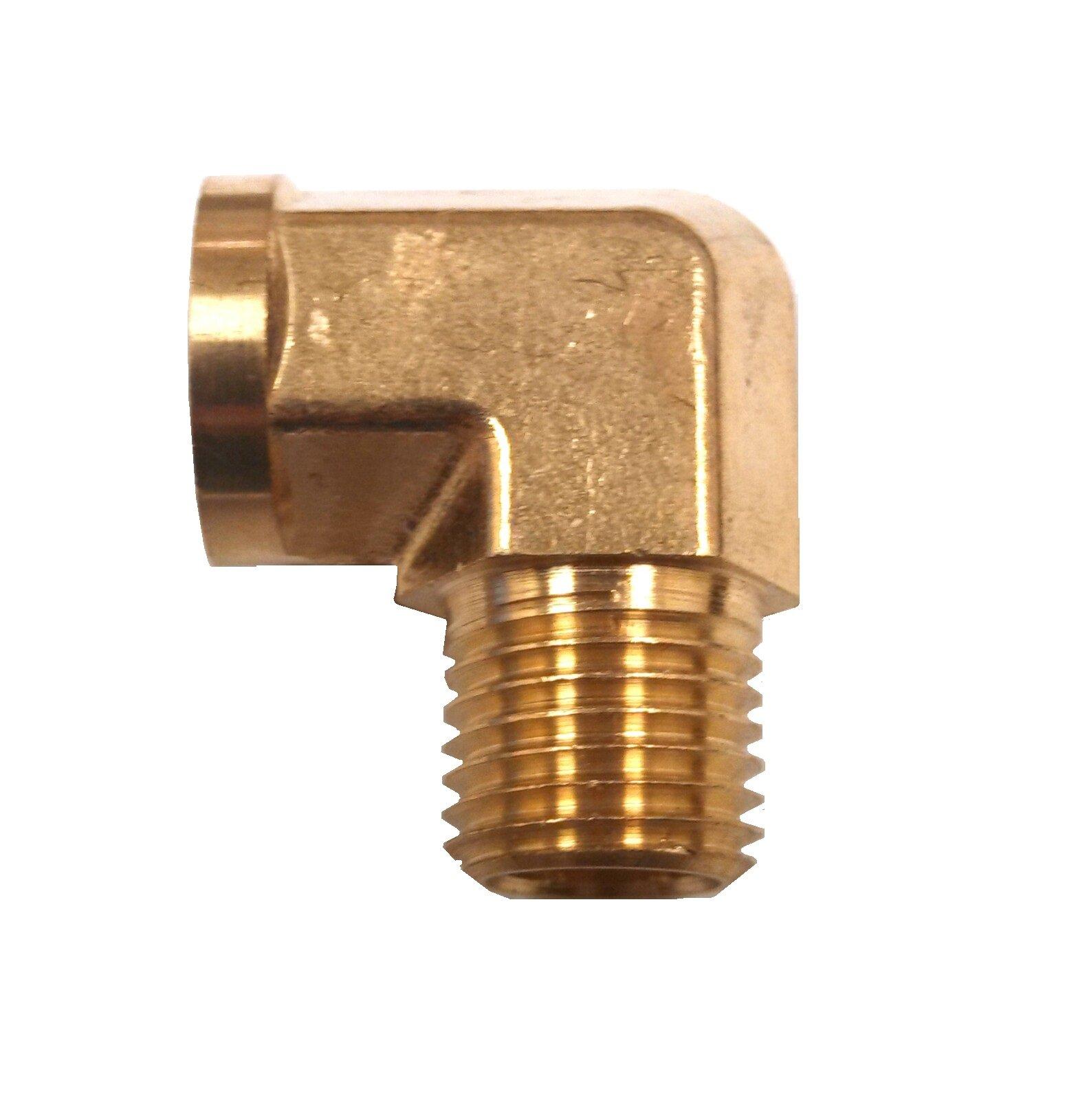 Kleinn Automotive Air Horns 59014 Brass Elbow Adapter