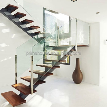 Modern Staircase Design Under Staircase Treads Indoor Wood Stairs