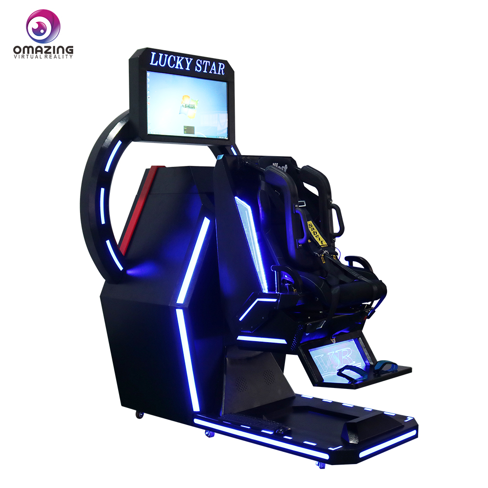 Top 9D VR game cinema cabin Large entertainment machine 360 degree virtual  reality rotation flight simulator, View 360 flight, Afresh Product Details