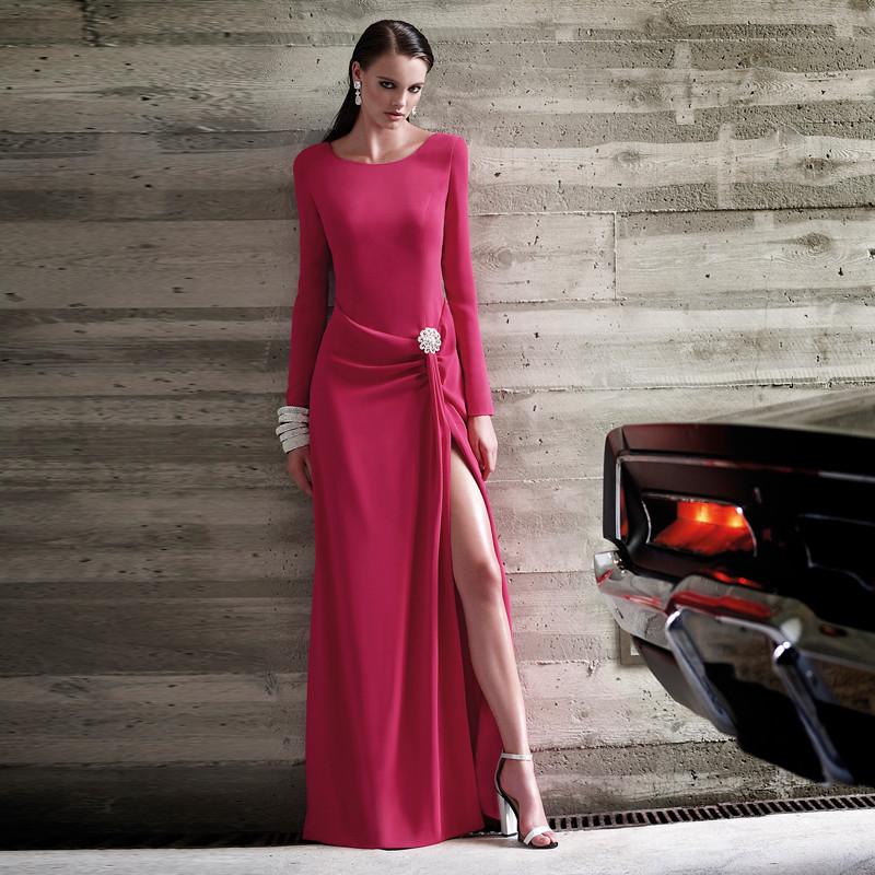 Ssyfashion Long Sleeve Wedding Dresses The Bride Elegant: Fashion Elegant Mother Of The Bridal Dress 2016 Long