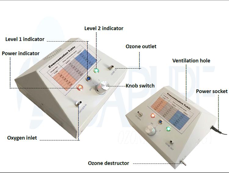 Profesyonel Alman teknoloji ozon tedavisi kan tıbbi ozon