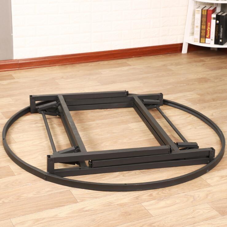 Haute Qualité et Pas Cher En Plastique Pliante Ronde Table et Chaise D'extérieur