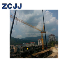 Construction machinery small luffing tower crane specification