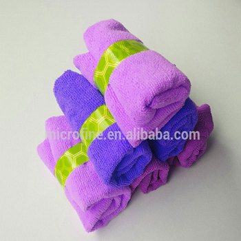China's alibaba small hand 80 polyester 20 polyamide real clean all purpose microfiber towel