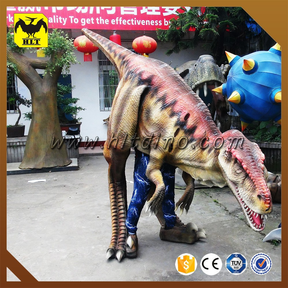 LIGHT weight & EASY control adult walking dinosaur costume for park