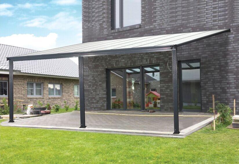 hinterhof pergola rahmen versenkbare patio markise. Black Bedroom Furniture Sets. Home Design Ideas