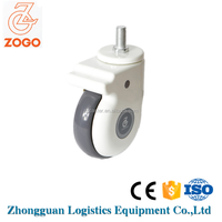 2016 New product threaded plastic caster wheel with good price
