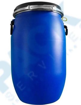 25 L HDPE blowing molding plastic pail/jerry can with Handle and Screw Lid