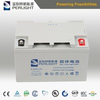 acid gel deep cycle solar battery 12/24V 100ah with CE TUV from top supplier