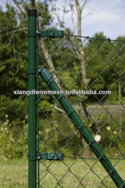 Used Chain link fence (galvanized and pvc coated ,many specifications)