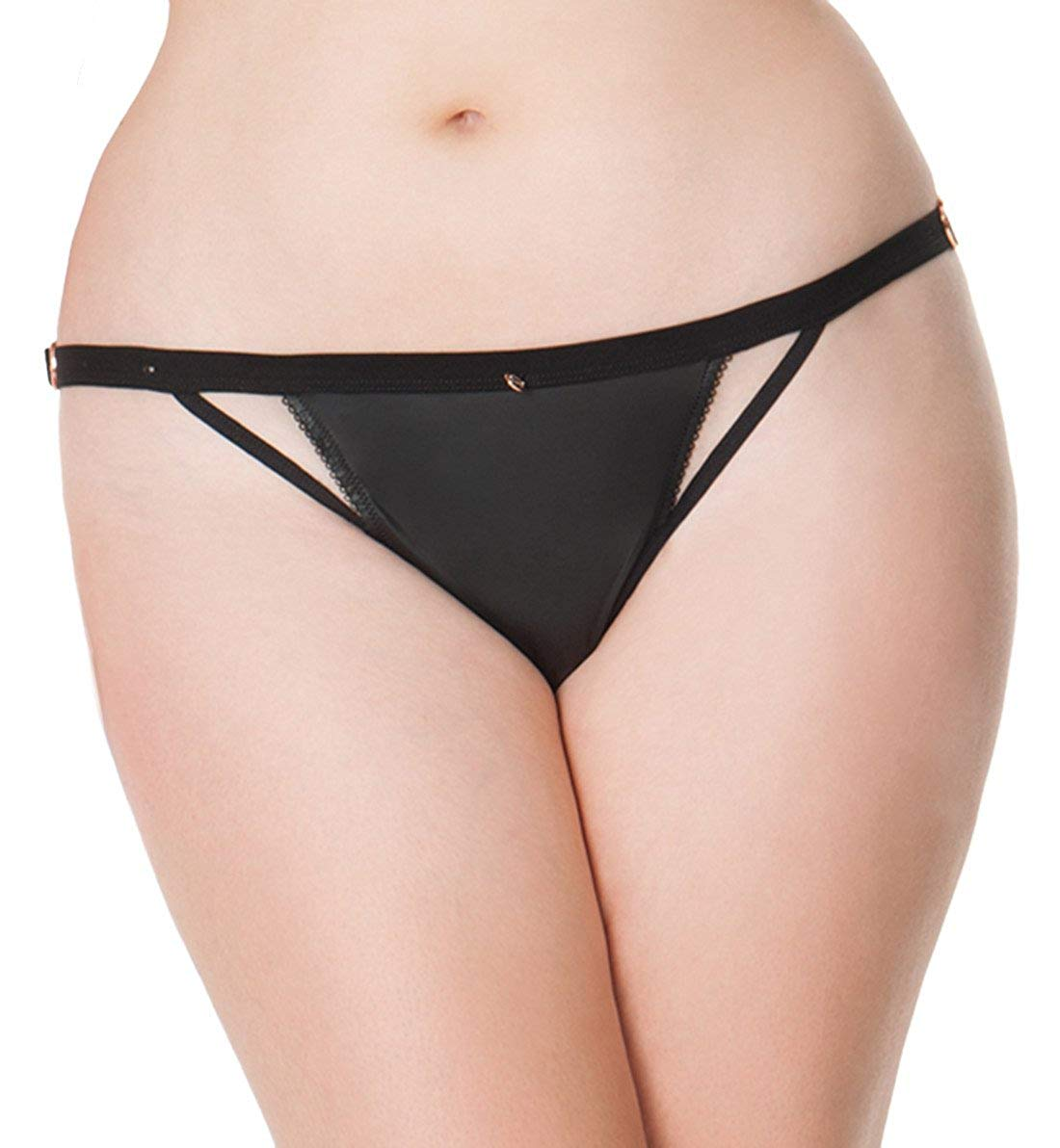 ca3b9b726c Get Quotations · Scantilly by Curvy Kate Womens Unleash Thong