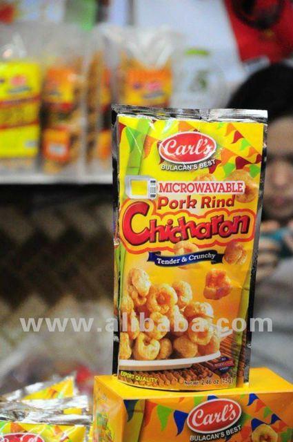 Carl's Microwavable Pork Rind Chicharon - Buy Chicharon Product on  Alibaba com