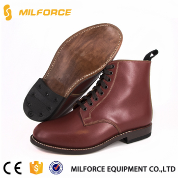 62c7045071 Milforce-good Year Technology Police Brown High Neck Shoes For Men ...