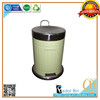 fingerprint resistant round foot pedal metal recycle models garbage cans