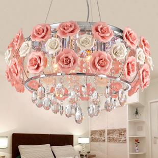 versandkostenfrei led rose kristall lampe schlafzimmer. Black Bedroom Furniture Sets. Home Design Ideas