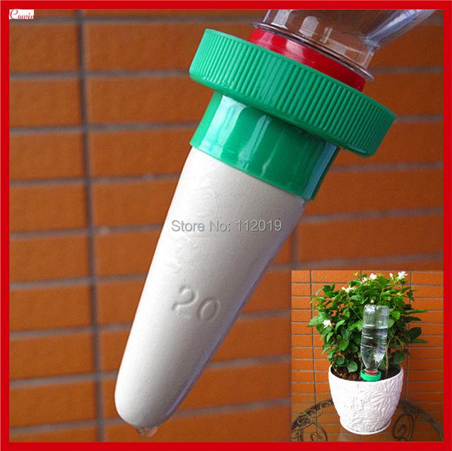 acheter nouveau 6 pcs lote abreuvoir automatique plante plante d 39 int rieur. Black Bedroom Furniture Sets. Home Design Ideas