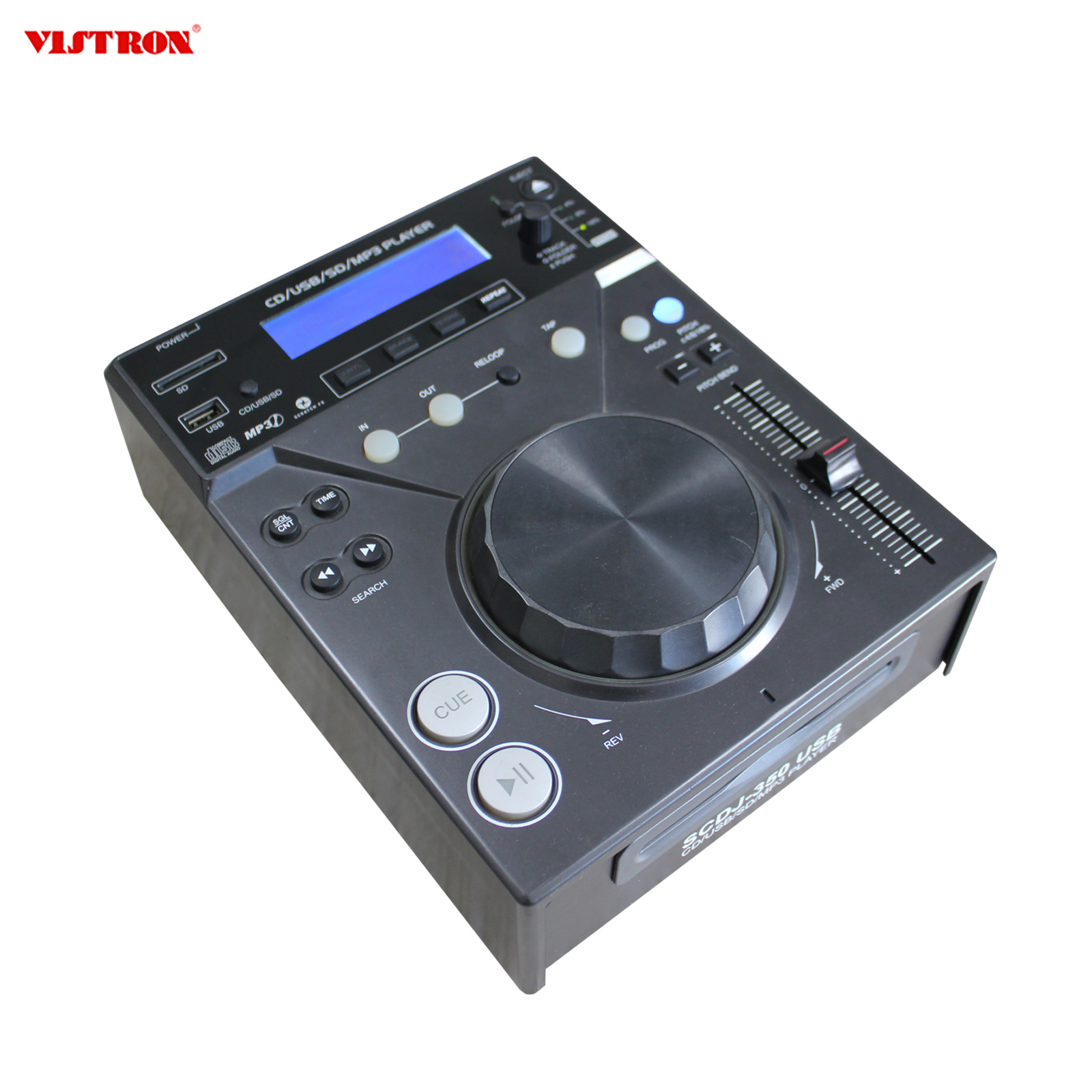 DJ CD Player Music Player for Home Audio System