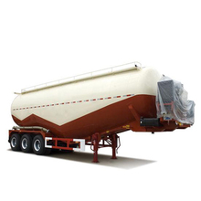 bulk cement transport semi trailer