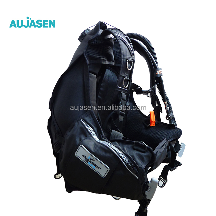High protection diving bc bcd scuba diving equipment for diving, Black