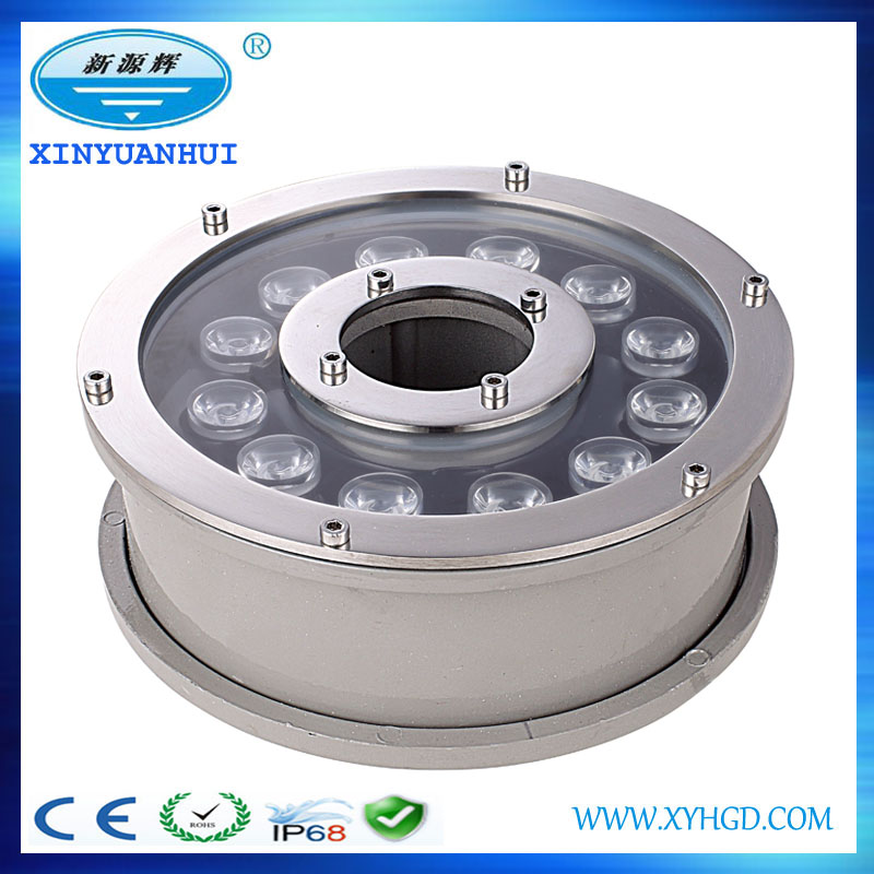 Multifunctional led high bay light dmx submersible fountain led lights
