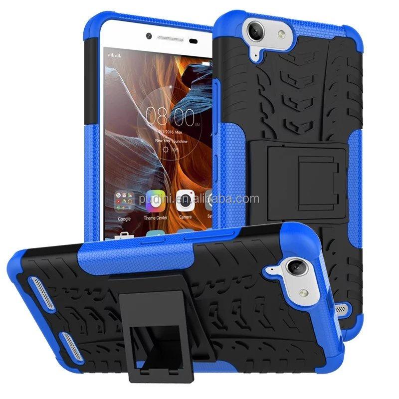 2016 PUDINI accesorios del teléfono móvil al por mayor 2 en 1 Armor hybird caso para