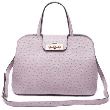 Genuine Ostrich Leather Handbags Las Milano