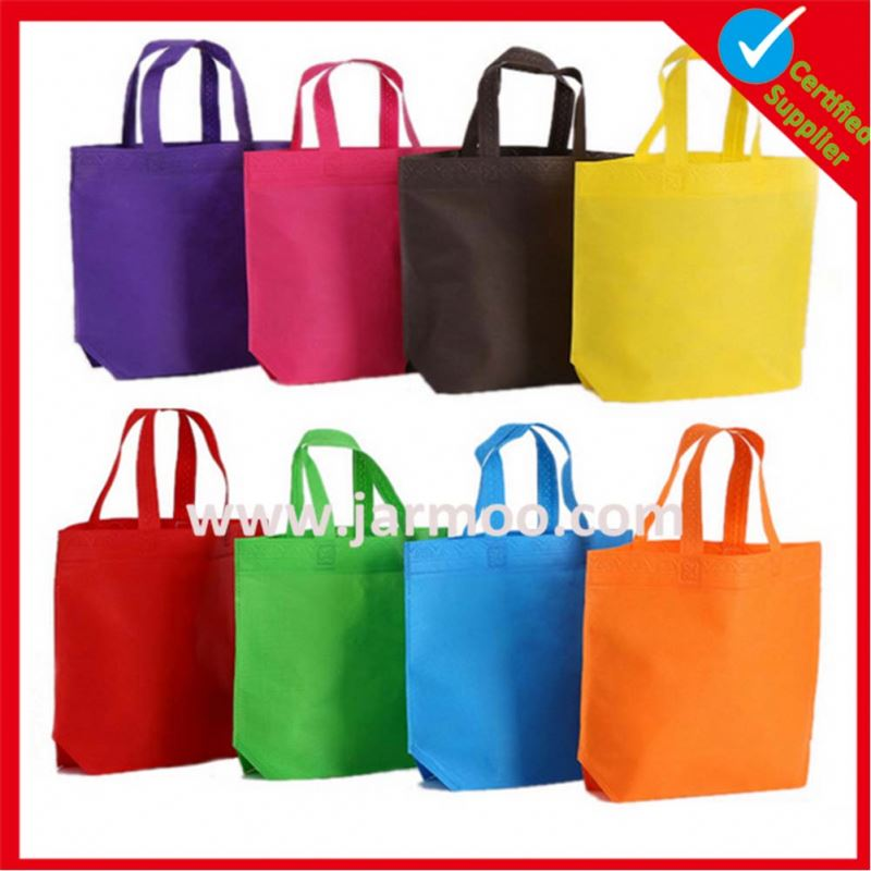 Manufacturer Wholesale Full Color Silk Screen Printing PP Fabric Non Woven Bag