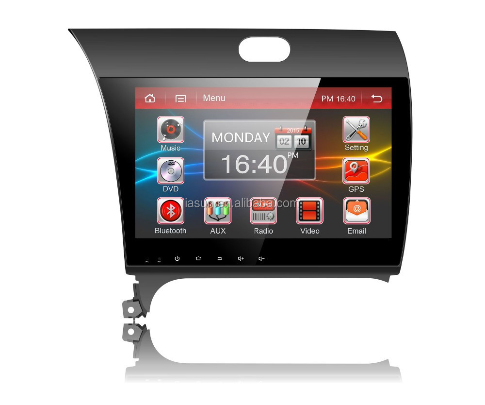Android 4.4.4 car navigation system with Mirror link for KIA K3