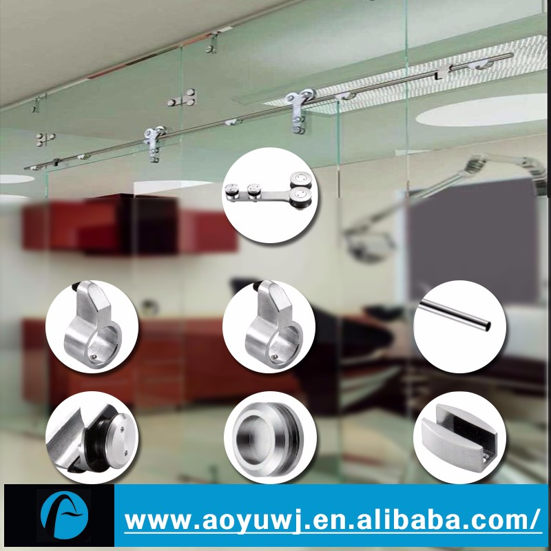 Bathroom Fittings Automatic Sliding Glass Door