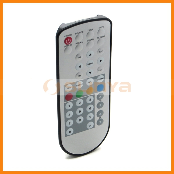 Waterproof Universal Remote Control for TV STB Video Audio Player Remote
