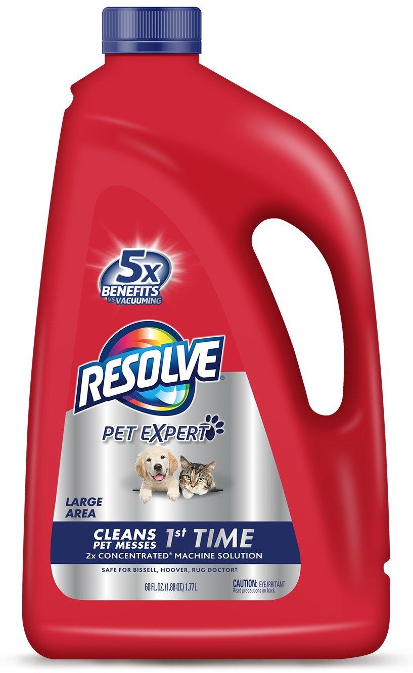 Get Quotations Resolve Pet Carpet Steam Cleaner Solution 60 Fl Oz Bottle 2x Concentrate