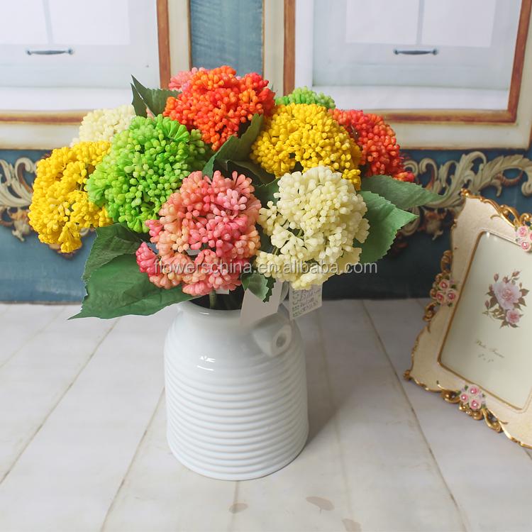 Flores artificiales de l tex colgando frutas artificiales - Frutas artificiales para decoracion ...