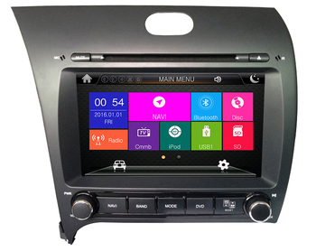 Android 8.1 Touch Screen Car Radio DVD Player for Kia Cerato/K3/ Forte 2013 Car Multimedia with GPS Audio Video