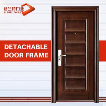 Modern stainless steel main door design buy main door for Ss door design