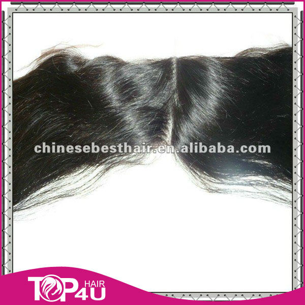 hair in stock hair piece can send at the first time