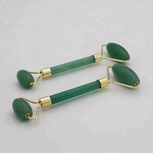 High Quality Green Aventurine Jade Stone Face Massage Tool For Human Beauty