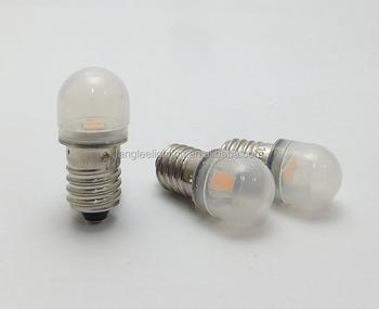Kleine led lampe 0 5 watt 12 v 24 v t10 birne e10 buy mini led e10