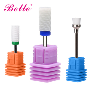 Belle Ceramic Burr for Professional Nail Drill Machine Tough Nail Drill Bits