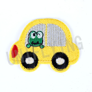 Wholesale Car Style Embroidery Patch Custom Iron On Patches