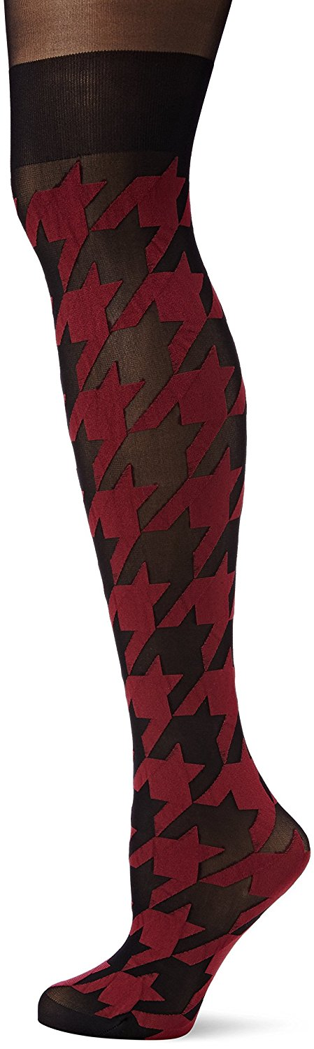 3ba3d471397 Get Quotations · Pretty Polly Ladies 1 Pair Secret Socks Abstract Mock Over  the Knee Sock Tights