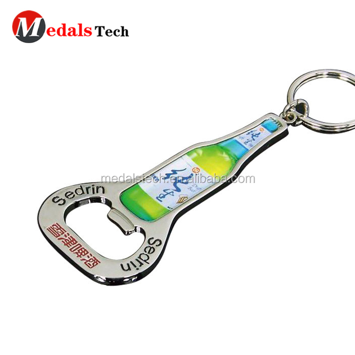 Factory direct sale custom antique brass plated wholesale 3d airplane bottle opener