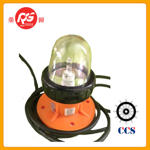 12v Plastic waterproof marine flash warning light lifeboats strobe lights BSW9812