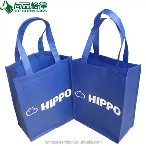 China Wholesale eco non woven fabric shopping tote carry reuse Trade Show Bag