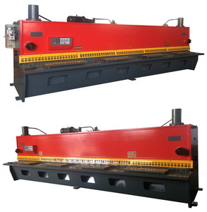 12mm thickness metal sheet Hydraulic guillotine shearing machine 3200mm