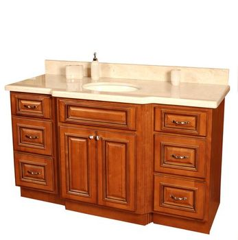 Good quality cherry glaze kitchen cabinet buy cherry for Cherry wood kitchen cabinets price