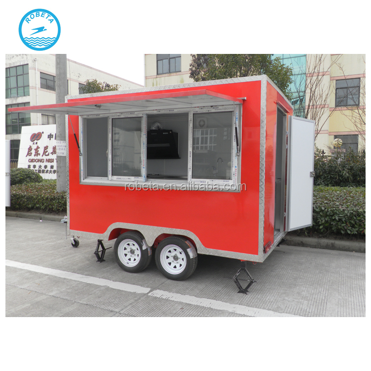 Factory new design fast food trailer for sale usa bakery food cart trailer for sale sales trailer food mobile